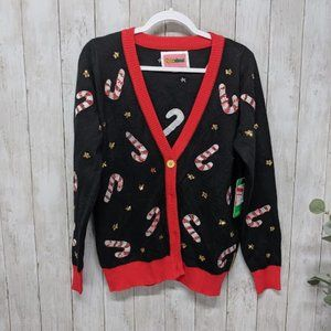 Tipsy Elves Candy Cane Christmas Cardigan